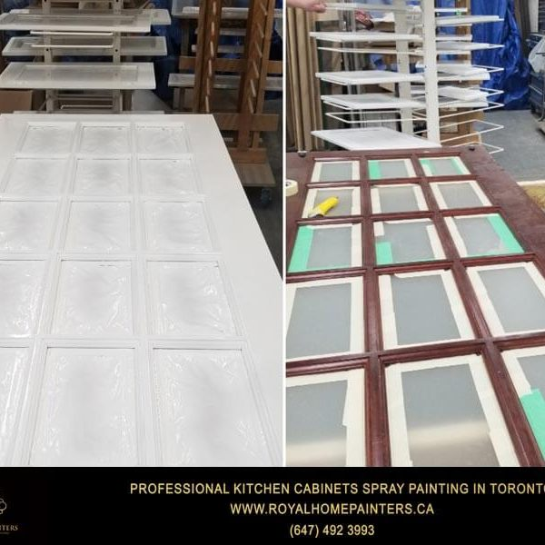 Interior Door Painting Refinishing Toronto