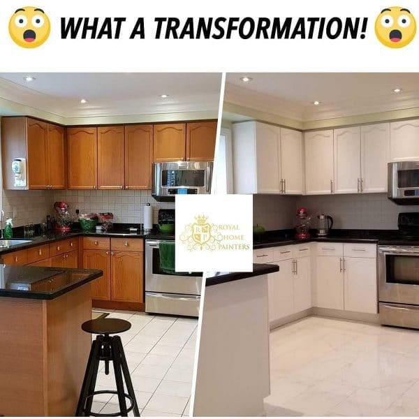 Kitchen Cabinet Transformation Budget Toronto