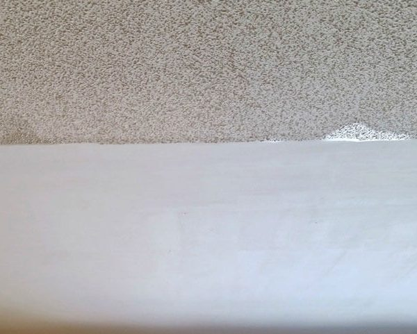 Before After Ceiling Stucco Removal Toronto