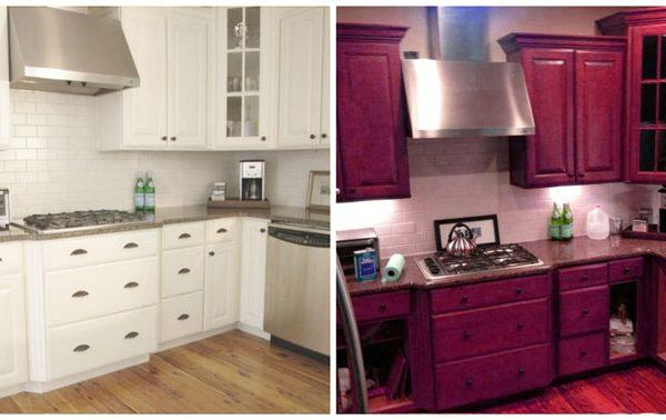 Kitchen Cabinets Spray Painting Cost Toronto Richmond Hill