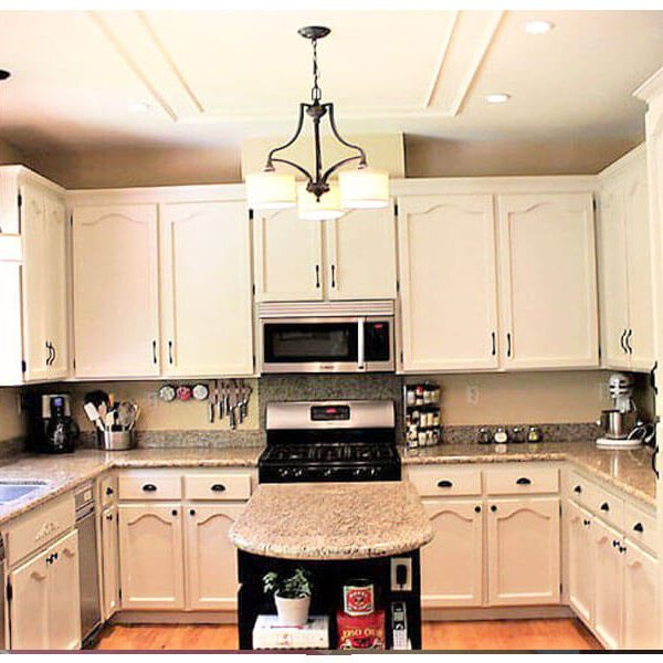 Painting Kitchen Cabinets White Modern Toronto