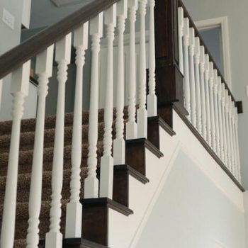 Painting And Repainting Stairs Interior Home Etobicoke