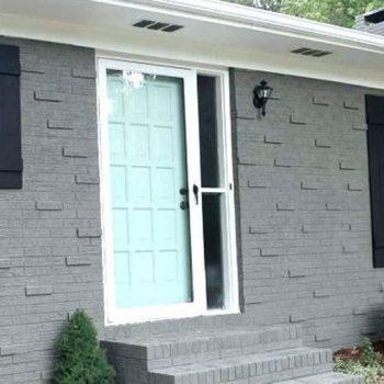 Spray Painting Brick Outdoor Toronto