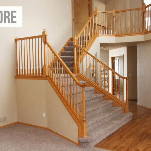 Staircase Painting Staining Richmond Hill Toronto