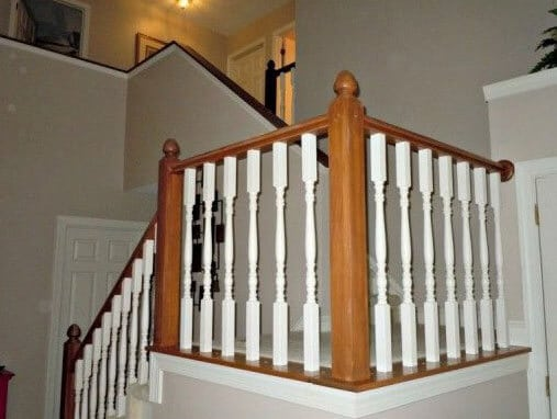 Townhomes Staircase Repainting Estimate Thornhill Newmarket