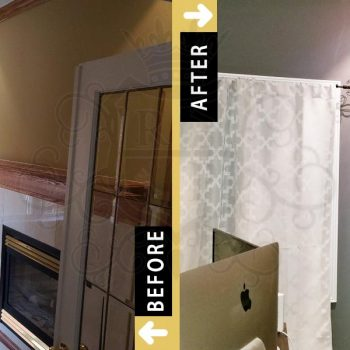 Before After Painting Home Office Markham Toronto