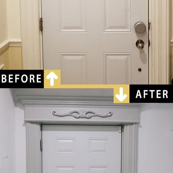 Painting Front Door Frame Trim Downtown Toronto