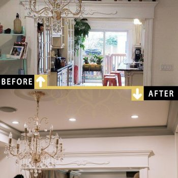 Painting Living Room Toronto Downtown Home Before After