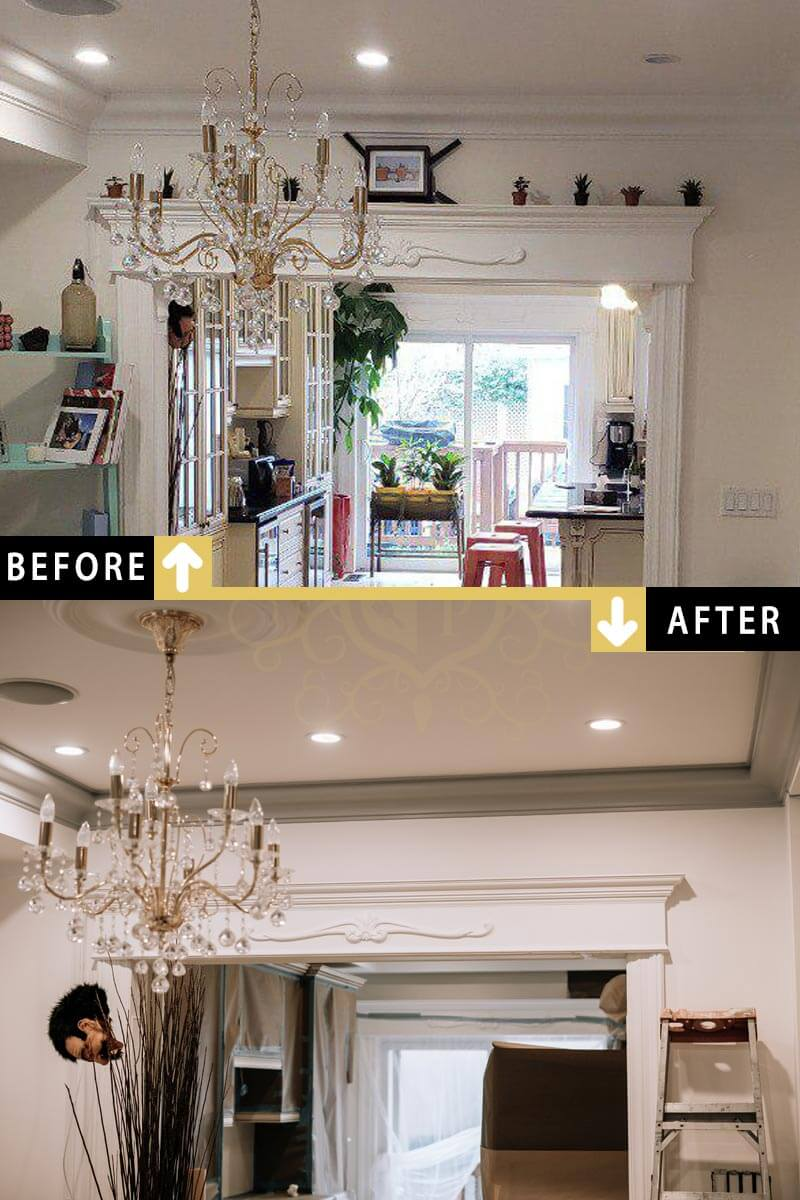 Cost of interior home painting in toronto painting cost - Average cost to paint a house interior ...