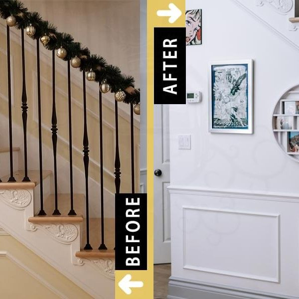 Painting Stairways Residential Home painters Toronto Etobicoke