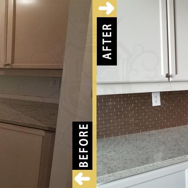 Before After Condominium Kitchen Cabinets Refinishing In North York