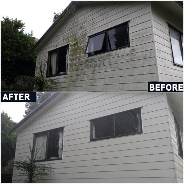 Before After Exterior Aluminum Siding Painting Toronto