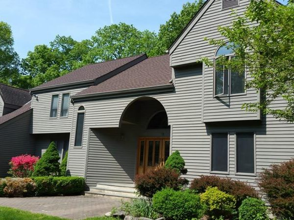 Custom Built House Painting Exterior Siding Downtown