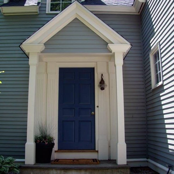 Exterior Front Door Siding Painting North York