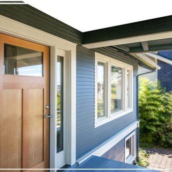 Painting Front Door Exterior Aluminium Of A House Etobicoke
