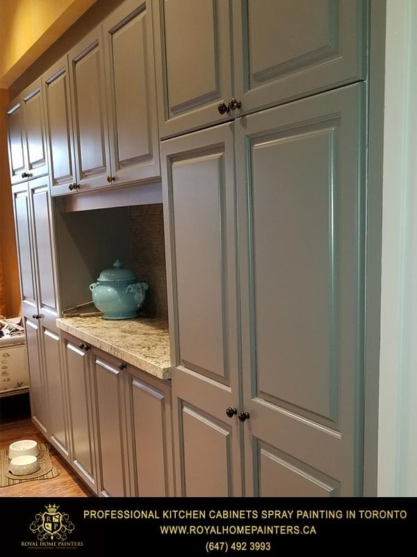 Toronto Kitchen Cabinets Spray Painting Gallery Royal Home