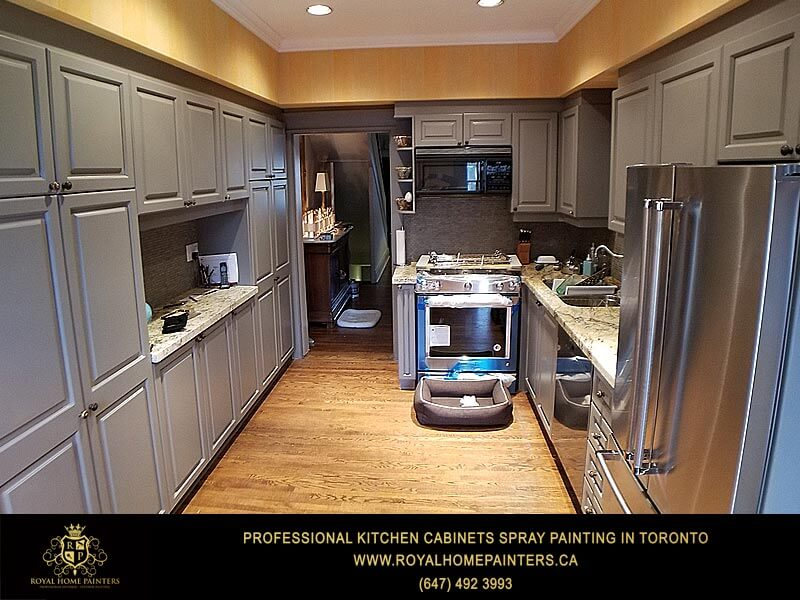 Kitchen Cabinets Painting Cupboards Spray Painting Cabinets