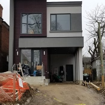 Brand New House Exterior Painting Service Richmond Hill