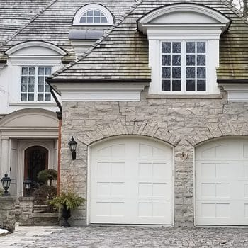 Double Garage Doors Painting Toronto
