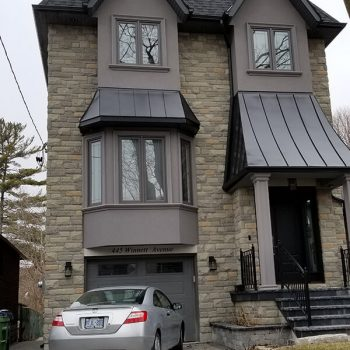 Eaves Soffit Fascia Painting Exterior Toronto