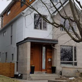 Exterior Wood Staining Siding Wall Painting Toronto