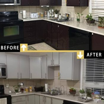Kitchen Cabinets Painting Cupboards Spray Painting