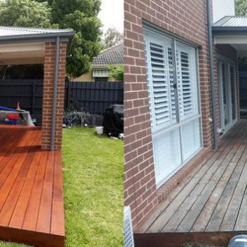 Re staining Deck Backyard Etobicoke Toronto