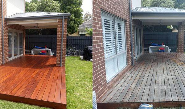 Re staining Deck Backyard Etobicoke Toronto