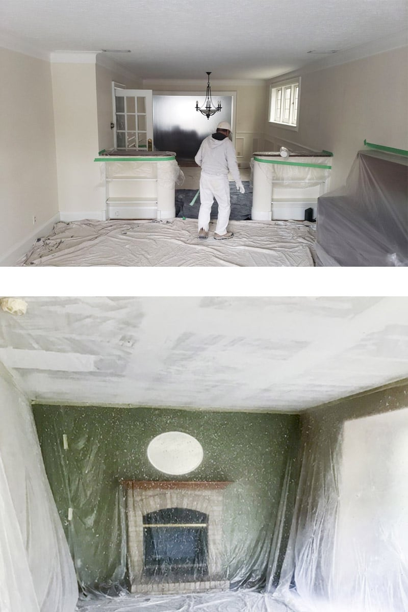 Removing Popcorn Ceilings And Flatten Ceilings Richmond Hill Toronto