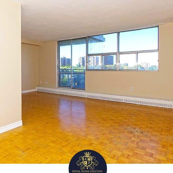 Apartment Living Room Painting Walls Toronto