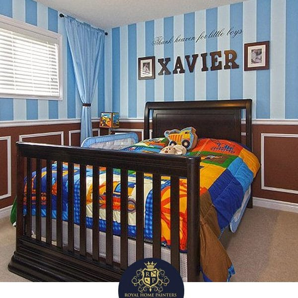 Boys Bedroom Painting In A Condo Richmond Hill