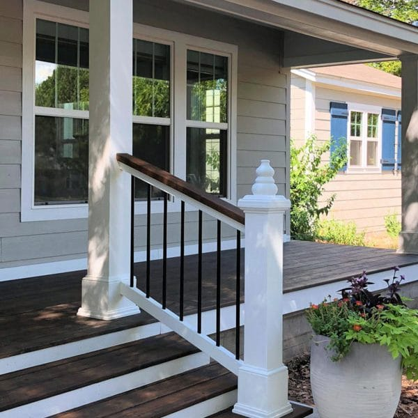 Front Side Exterior Painting Staining Service Etobicoke