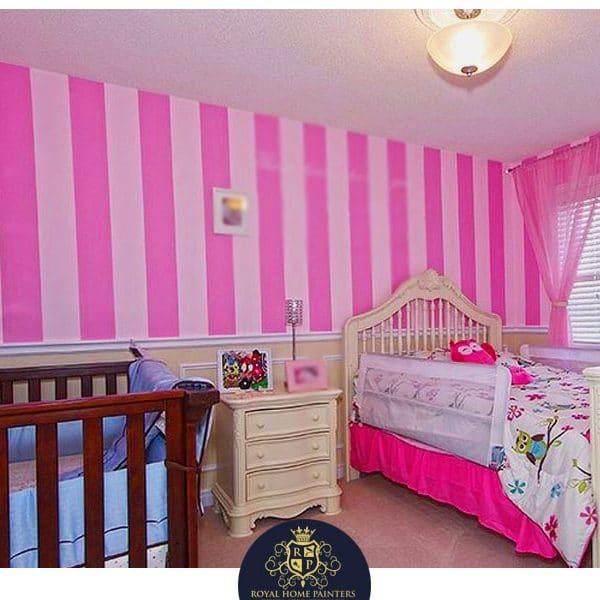 Kids Room Painting Design Idea Toronto