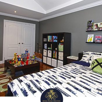 Large Bedroom Painting Gray Richmond Hill Aurora