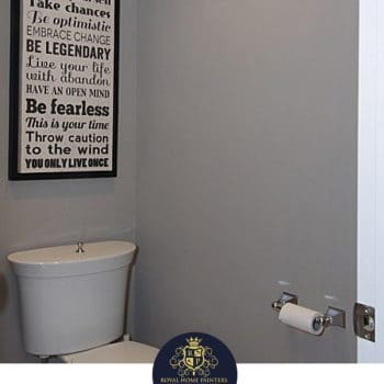 Painting Bathroom Walls Gray Woodbridge
