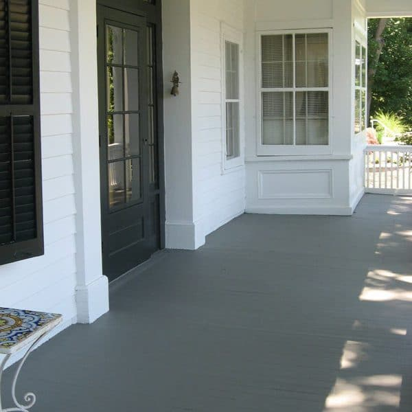 Painting Gray Porch White Richmond Hill