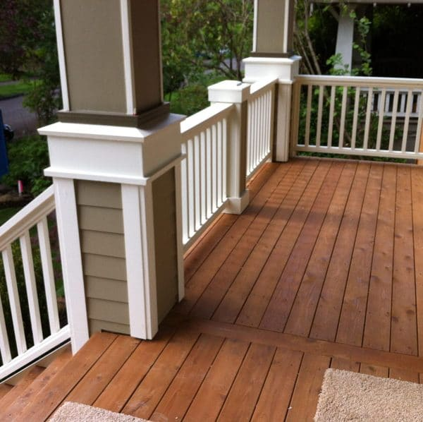 Staining Front Porch Toronto
