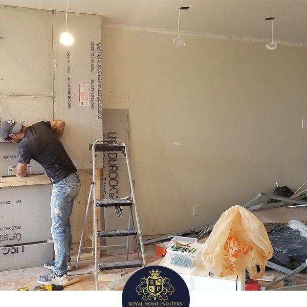 Wall Unit Entertainment Royal Home Painters Toronto