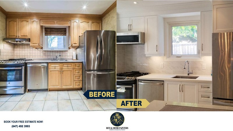 Kitchen Reno Countertop Backsplash Installation Toronto