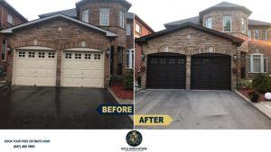Exterior-Painting-Garage-Door-Soffit-Fascia-Painting-Aurora