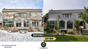Exterior-Stucco-Repair-Painting-Windows-Trims-Repainting-Toronto