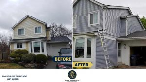 Exterior-Vinyl-Siding-Painting-Light-Blue-North-York