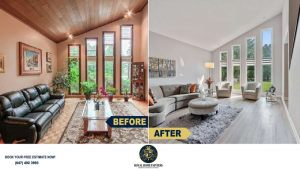 Interior-House-Painting-Wood-Trim-Ceiling-Panel-Painting-North-York
