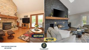 Stone-Wall-Interior-Painting-Frames-Trim-Painting-Woodbridge